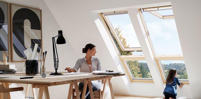 Den Haushalt richtig Lüften - DIN-Norm 1946 - Dachfenster Düsseldorf