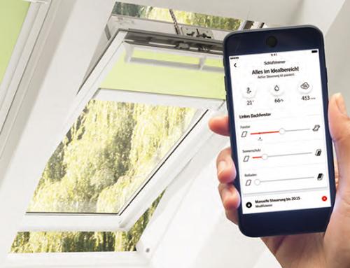 VELUX ACTIVE – Die neue Dachfenster App