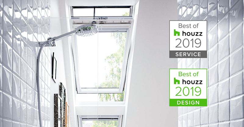 "May Dachfenstertechnik gewinnt ""Best of Houzz-Award"" 2019"